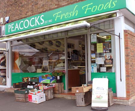 Our shop in Collingwood Crescent